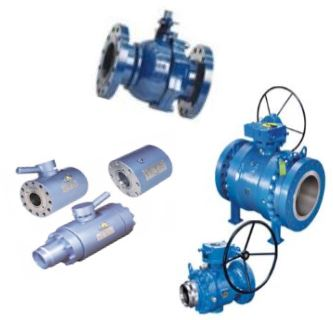 Floating & Trunnion Ball Valves